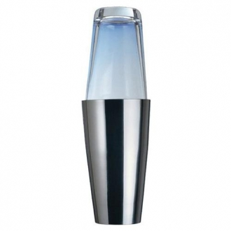 ACCESSORI DA BAR ,AGITATORE BOSTON INOX-VETRO A.165