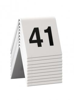 COMPLEMENTI DA ARREDO ,CONF.10 NUMERI SEGNAPOSTO 41-50