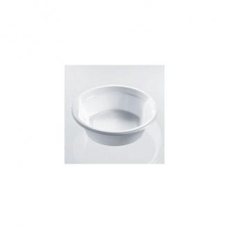 MONOUSO GENERICO ,CONF.50 SCODELLE PLASTICA BIANCHE CC.500