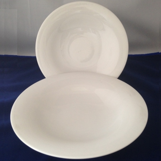 PORCELLANE ,PASTA B-BOWL TOP CM.26 NAPOLI BIANCO