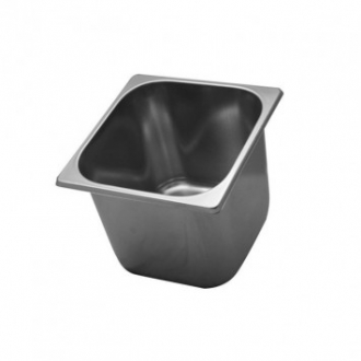 ACCESSORI GELATERIA ,VASCHETTA GELATO INOX MM.210X200 H.150