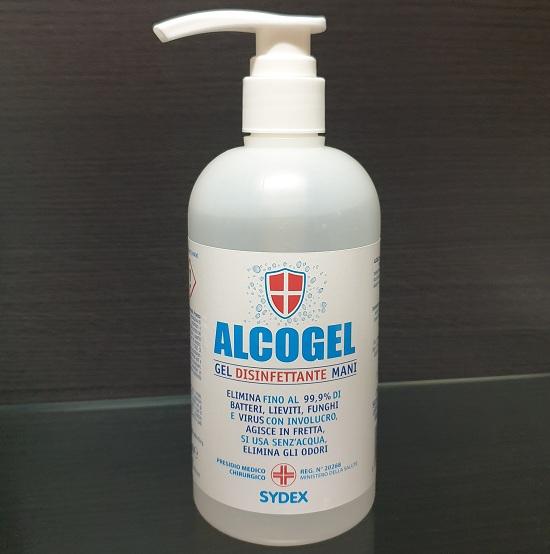 DETERGENZA FLACONE ML.500 ALCOGEL GEL IGIENIZZANTE MANI PMC