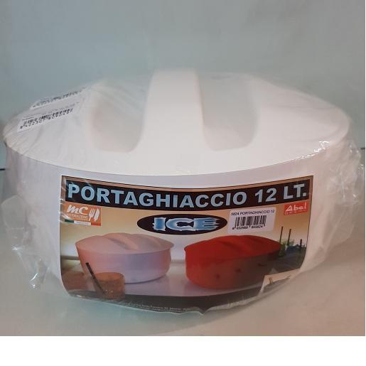 ACCESSORI DA BAR PORTAGHIACCIO TONDO LT.12 C/C D.35H19 BIANCO